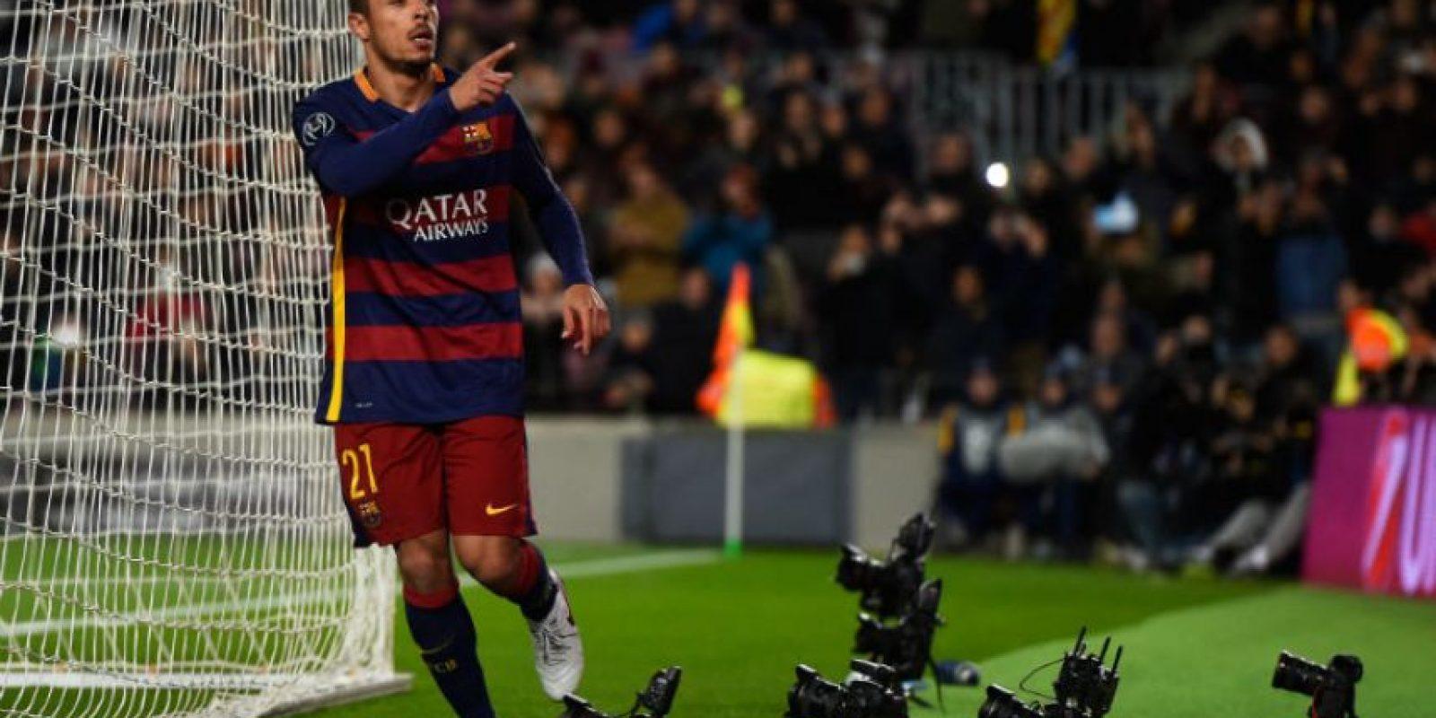 El defensa brasileño del Barcelona tiene opciones de mudarse a la Roma Foto:Getty Images