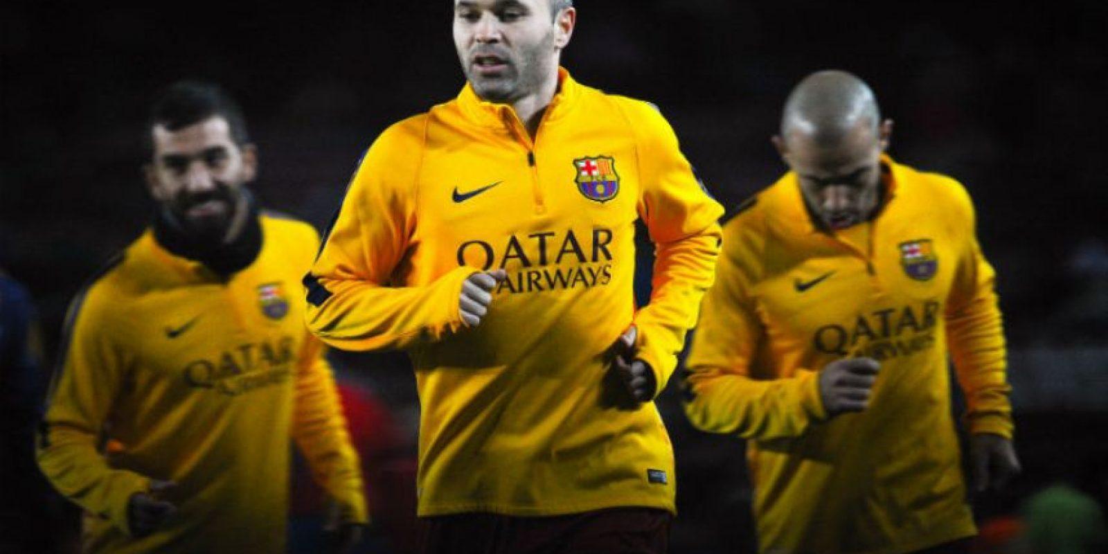 Andrés Iniesta (Barcelona) Foto:Getty Images