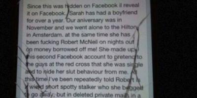 Este rompió el teléfono y hackeó el Facebook. Foto:vía Facebook