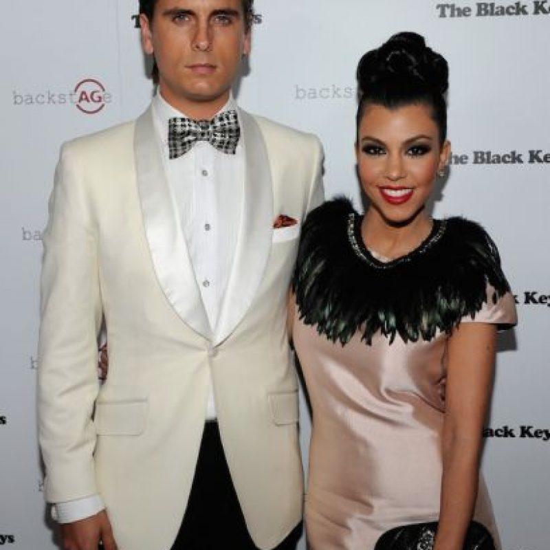 Scott Disick no dejó ni que se terminara lo suyo con Kourtney Kardashian. Foto:vía Getty Images