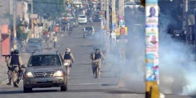 Haití vive tercer día consecutivo de violencia ante proximidad de elecciones