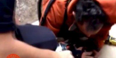 ¡Increíble! Bombero salva a un cachorro con respiración boca a boca Foto:Facebook.com/BomberosdelConsorcioDeValencia