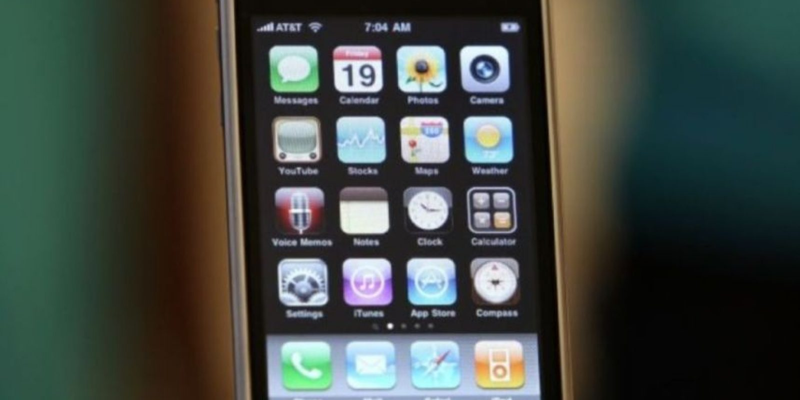 iPhone 3GS (2009). Foto: Getty Images