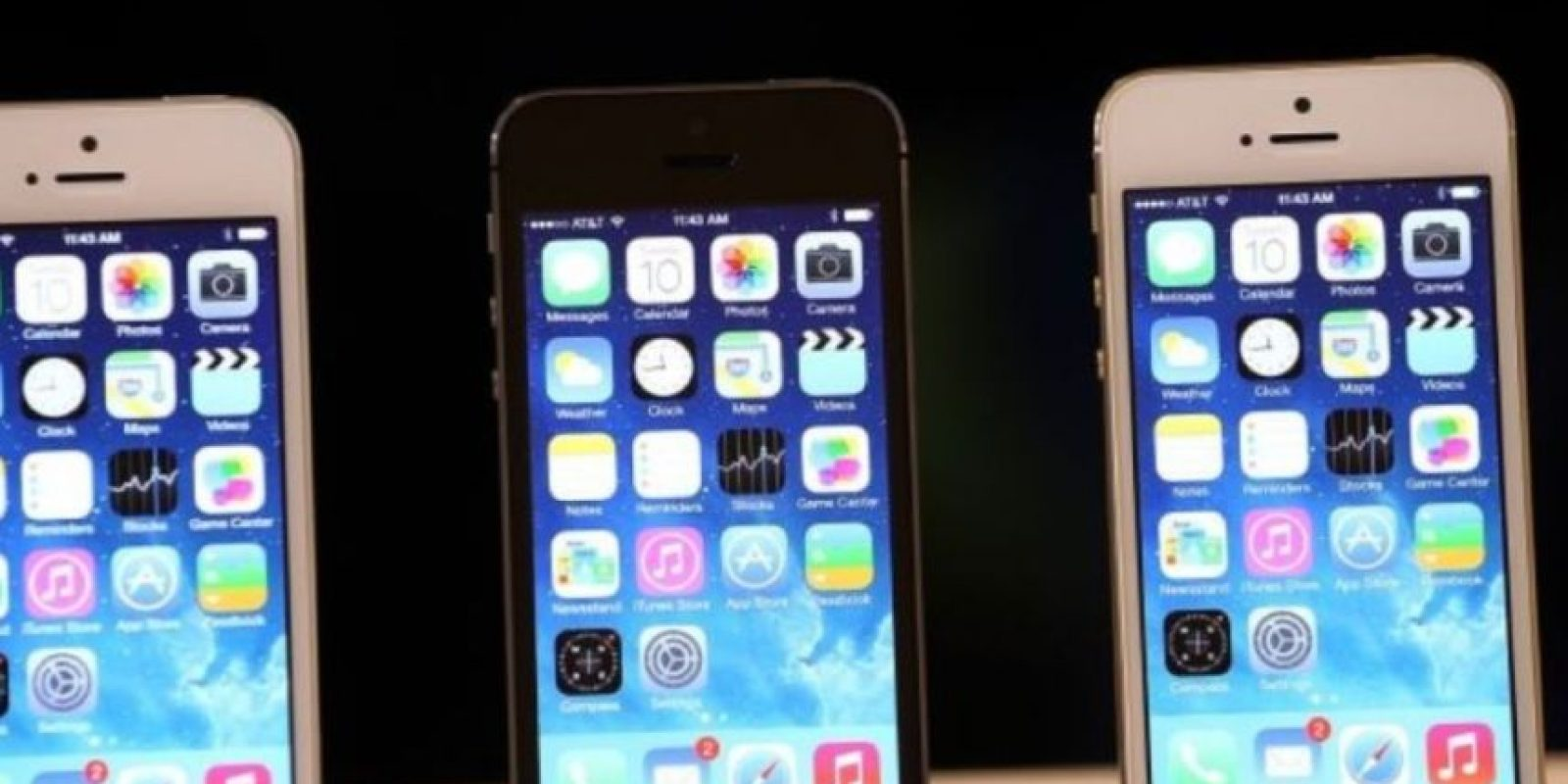 iPhone 5s (2013). Foto: Getty Images