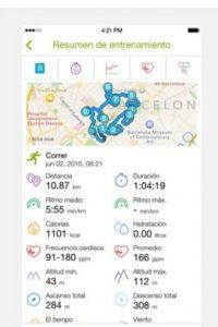 Disponible para iOS, Android, Windows Phone y BlackBerry. Foto:Endomondo.com