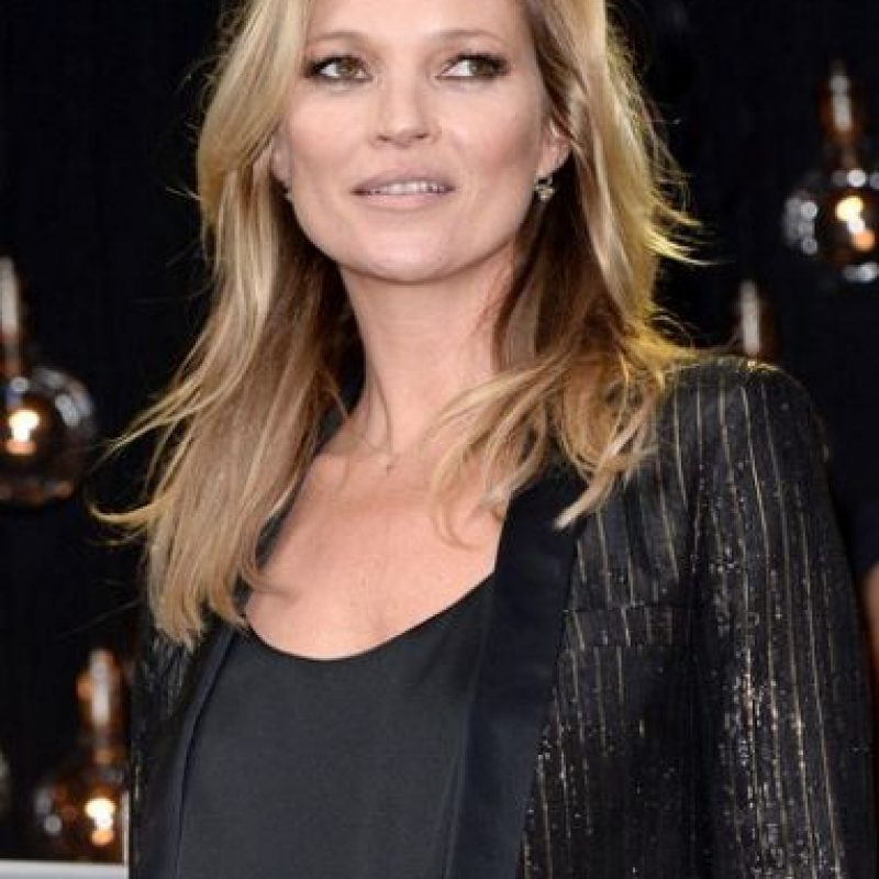 La supermodelo Kate Moss tiene estrabismo Foto: Getty Images