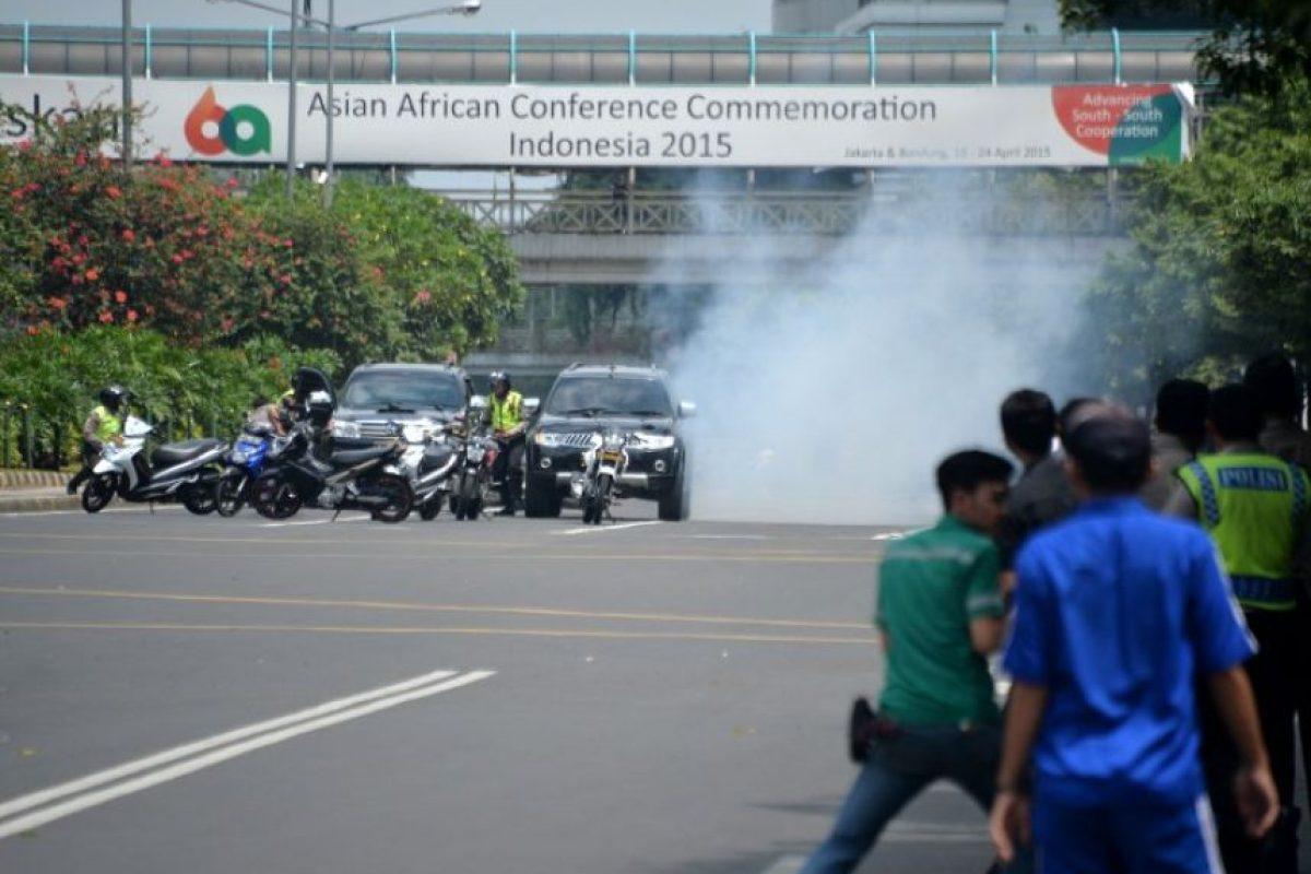 Entre los muertos hubo cinco agresores. Foto:AFP