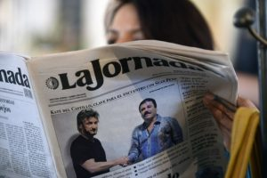 Tras la noticia se dio a conocer una entrevista que el delincuente hizo con el actor Sean Pean Foto:AFP