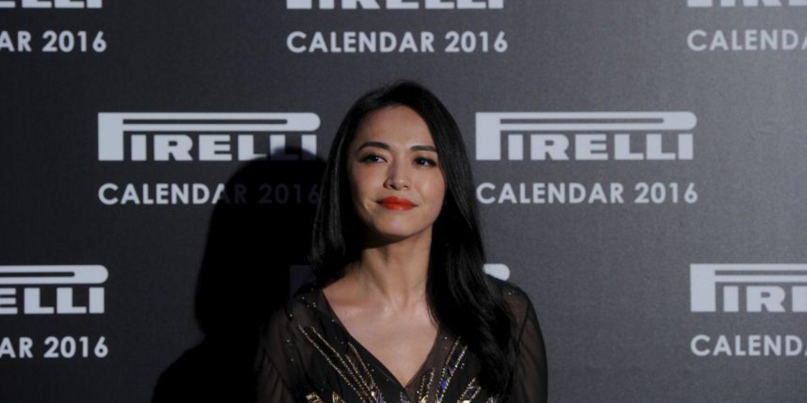 La actriz Yao Chen entre otros. Foto:Getty Images