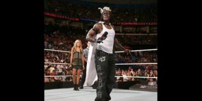Cumplió 44 años y fue festejado por el roster principal Foto:WWE