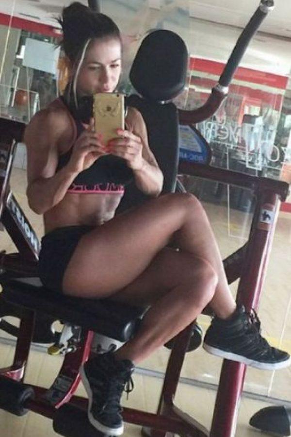 Fue elegida como la Chica Fitness Colombia 2014 Foto:Vía instagram.com/marce_fitness722
