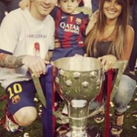 Es la pareja de Lionel Messi Foto:Getty Images