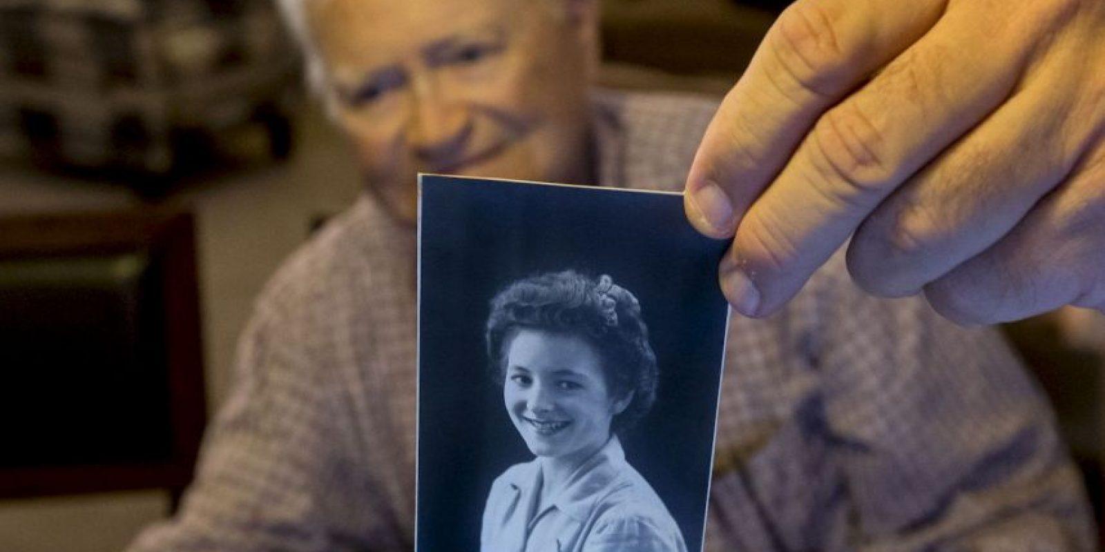 Norwood Thomas incluso conserva una fotografía de quien fuera su novia Foto:AP