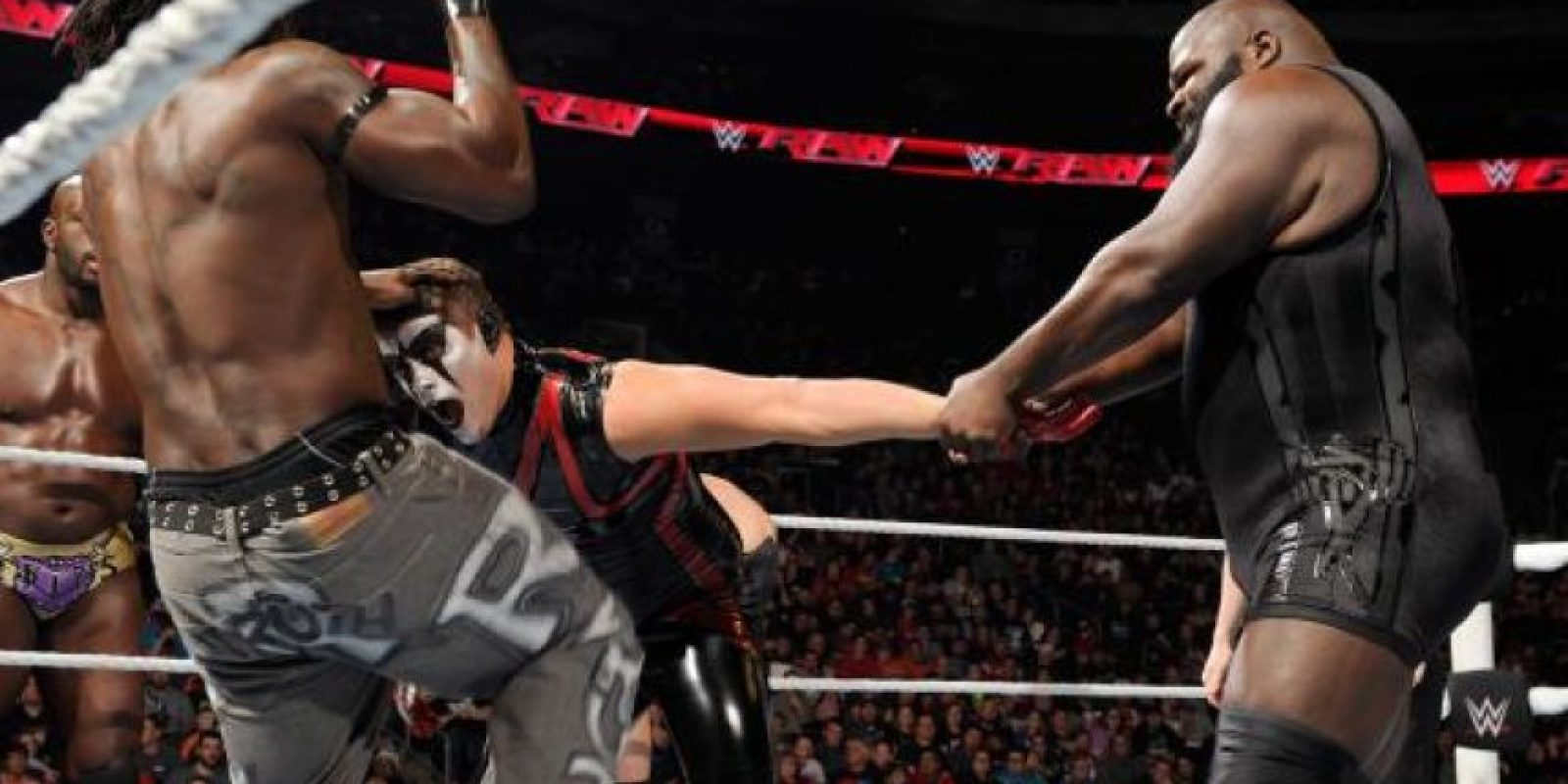 La dupla formada por Mark Henry Foto:WWE