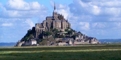 Mont Saint Michel, Francia. Foto:Vía Flickr