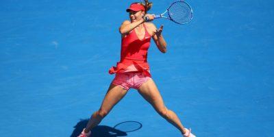Maria Sharapova avanzó a la cuarta ronda del Abierto de Australia Foto:Getty Images