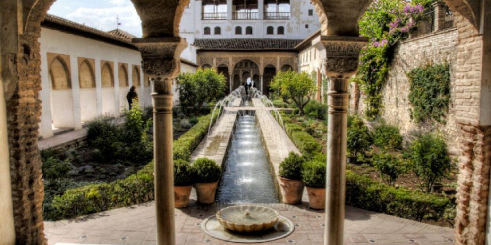 La Alhambra de Granada, España. Foto:Vía Flickr