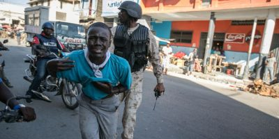Violencia. Las postales que recorren el mundo Foto: Fuente externa