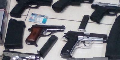 Entre agosto-diciembre 2015 se incautaron 977 armas de fuego