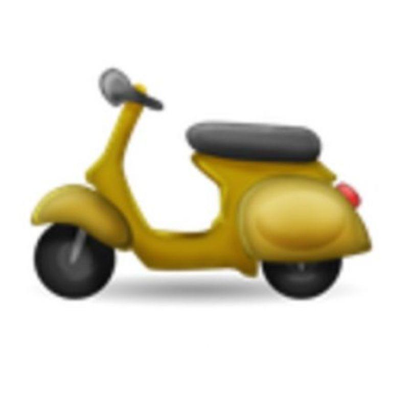 Motocicleta. Foto:vía emojipedia.org