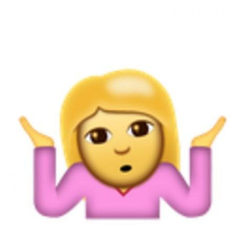Mujer confundida. Foto:vía emojipedia.org