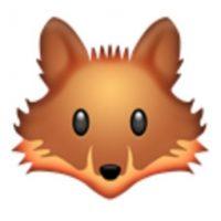 Cara de zorro. Foto:vía emojipedia.org