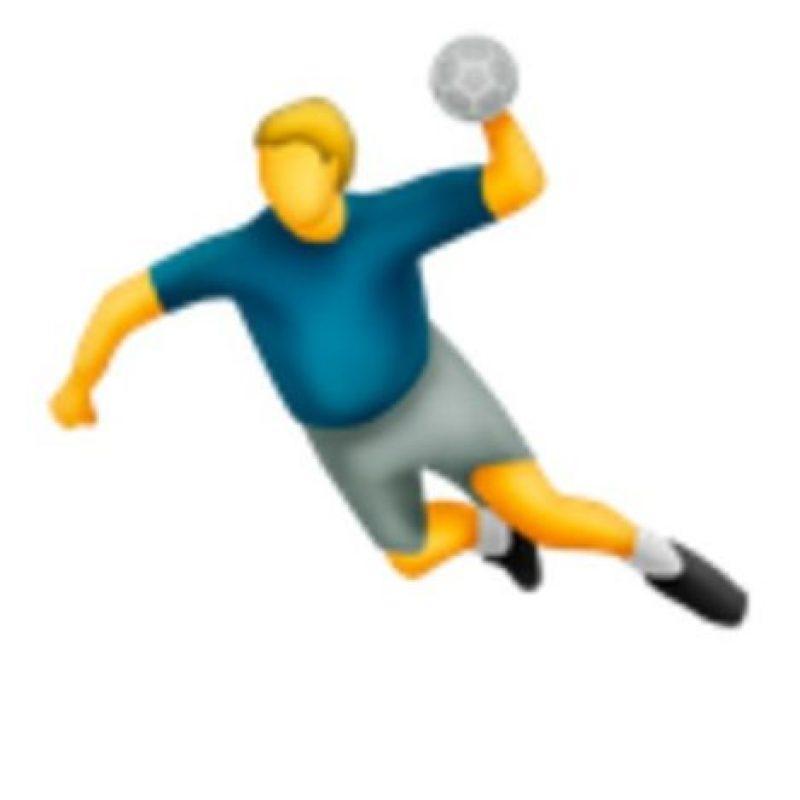 Handball. Foto:vía emojipedia.org
