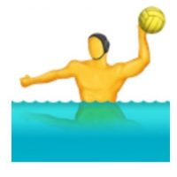 Waterpolo. Foto: vía emojipedia.org