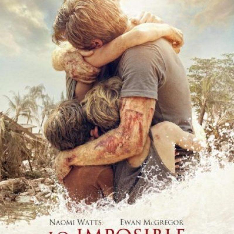 Este drama atrapante narra el caos que vivió una familia debido al tsunami de 2004 en la costa del sudeste asiático. Foto:vía Netflix