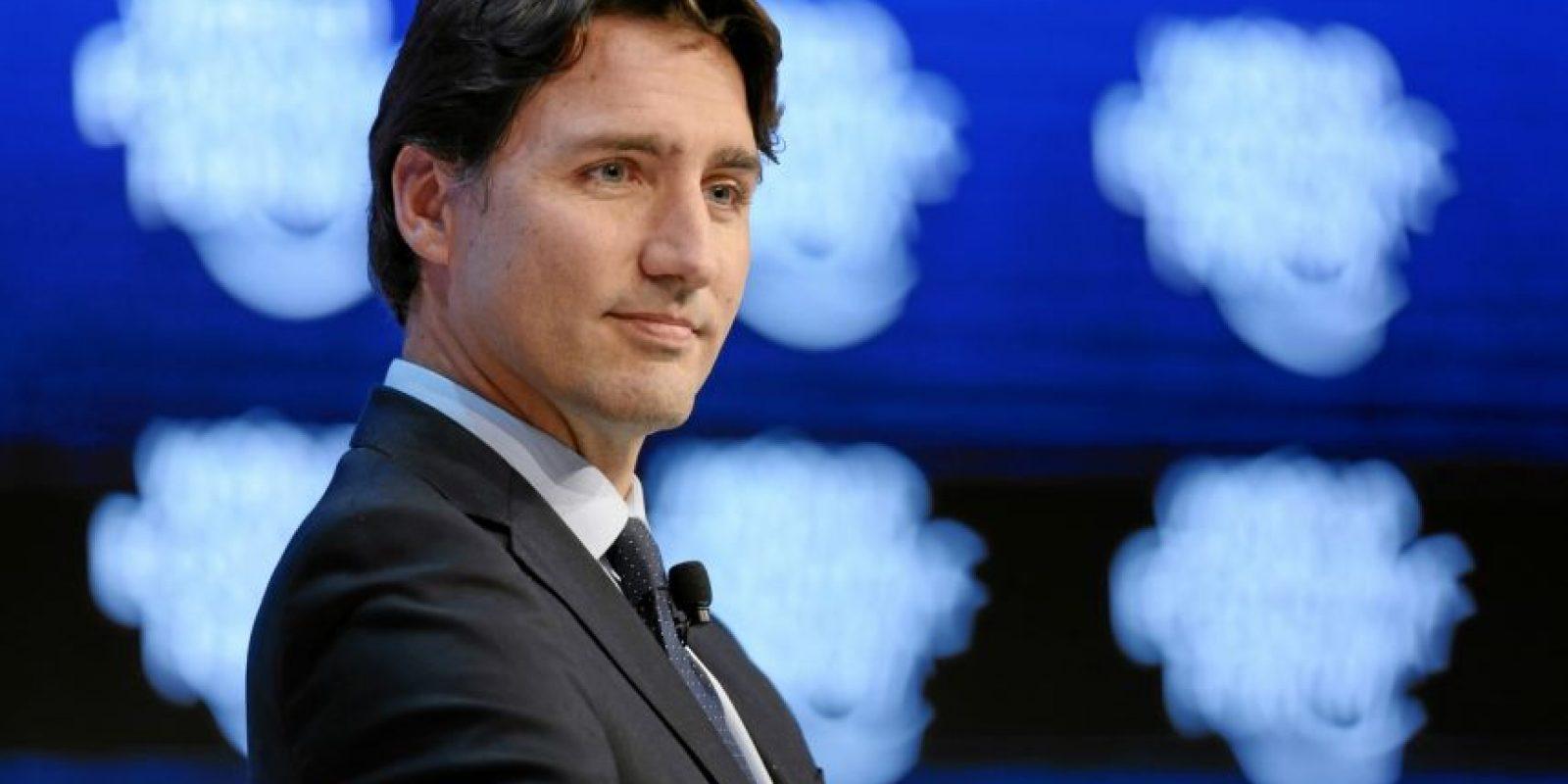 """Justin Trudeau, primer ministro de Canadá, habla durante la sesión de """"La oportunidad canadiense"""". Foto:Vía weforum.org"""