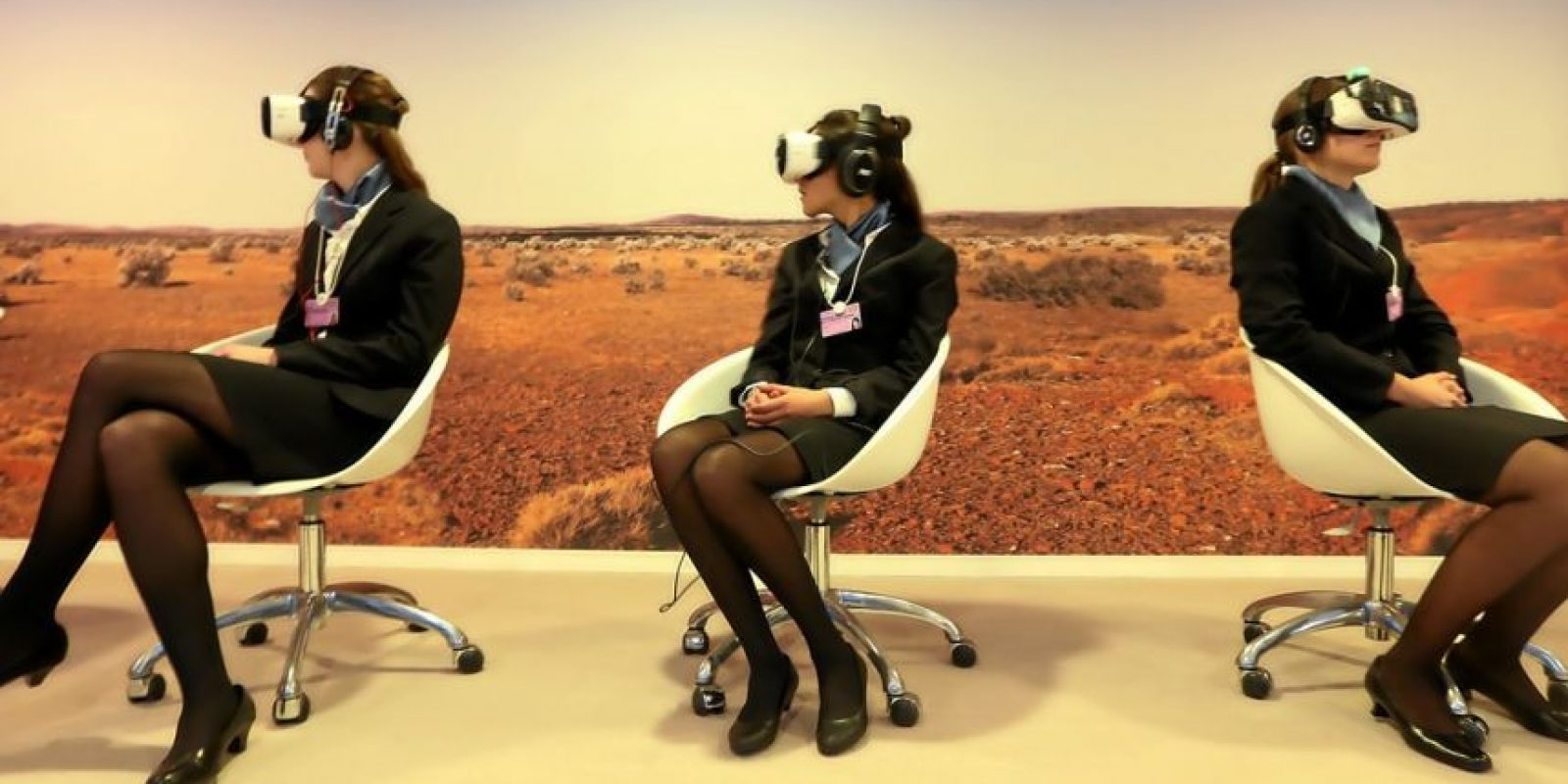 "Módulo de ""Virtual Reality Space"". Foto: Vía weforum.org"