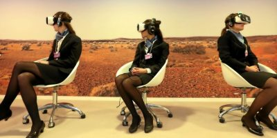 """Módulo de """"Virtual Reality Space"""". Foto:Vía weforum.org"""