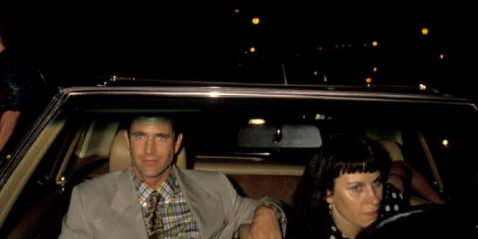 """Pues se casó con una mujer totalmente """"normal"""", Robyn Moore. Foto:vía Getty Images"""