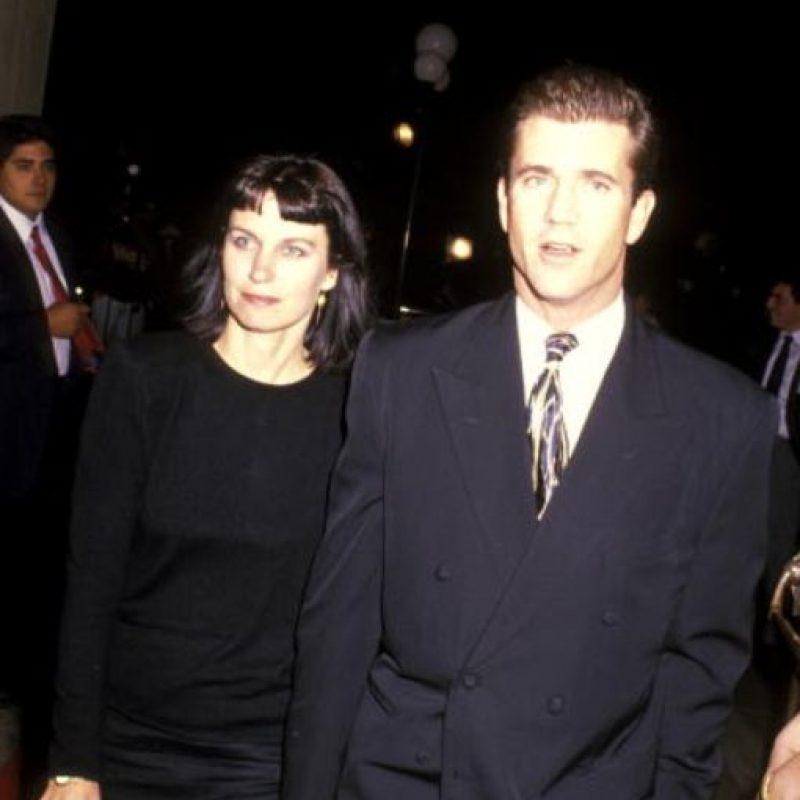 En los años 80 y 90 Mel Gibson era muy admirado por su matrimonio. Foto:vía Getty Images