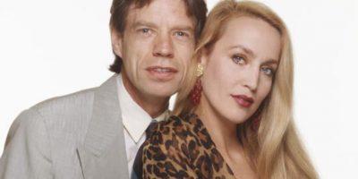 Se casó con Jerry Hall en los años 90, después de tener cuatro hijos. Foto:vía Getty Images