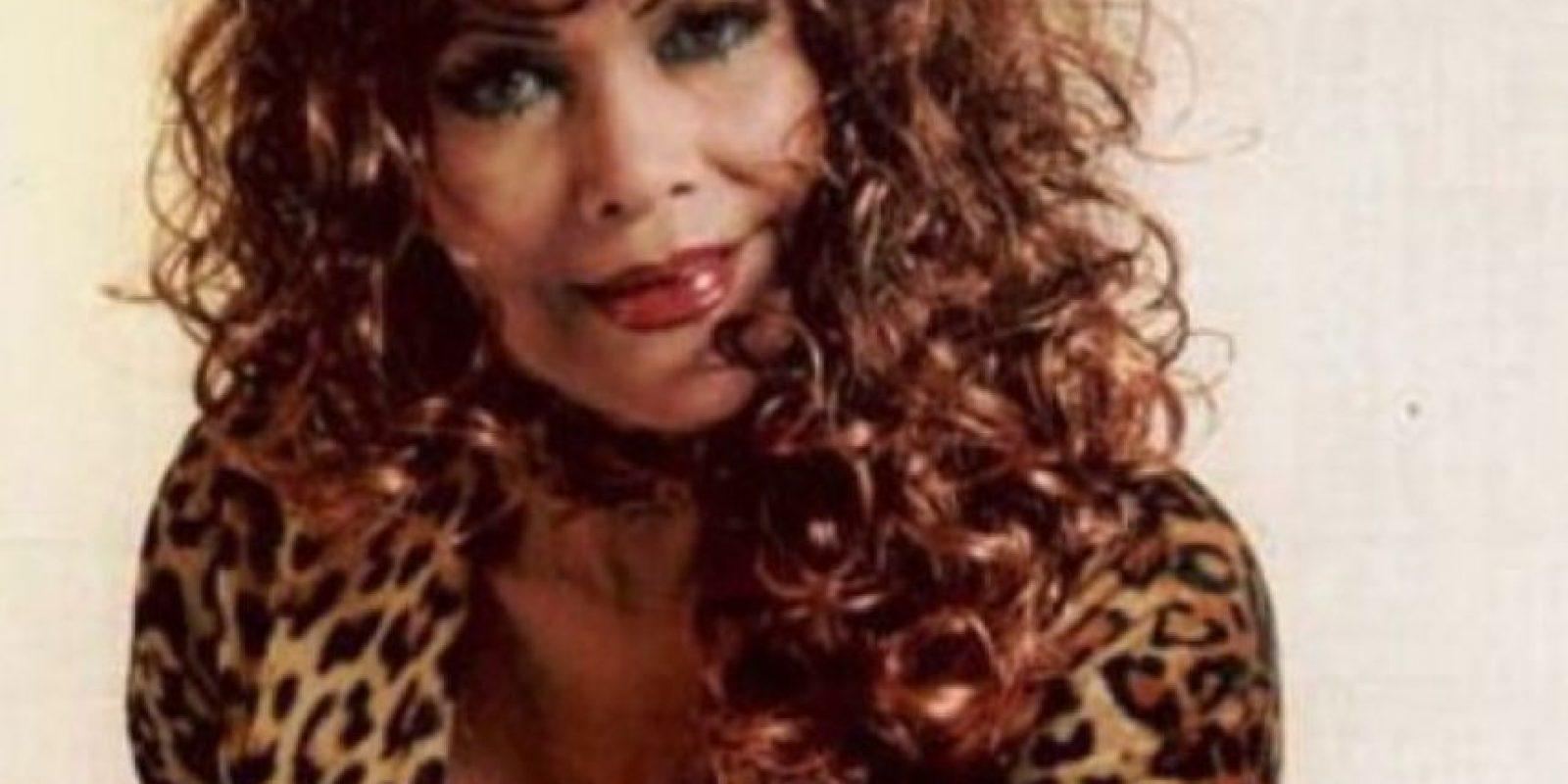 Judith Bustos pasó de ser maquilladora en la televisión peruana a una de las estrellas más populares de Internet. Foto:vía Facebook/La Tigresa del Oriente