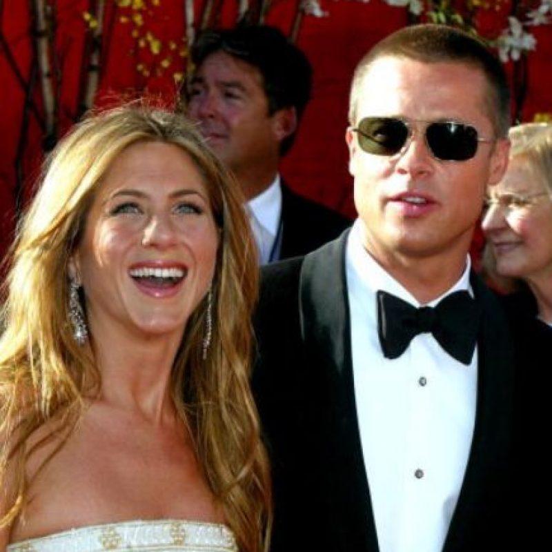 La separación de Jennifer Aniston y Brad Pitt fue uno de los grandes escándalos de Hollywood en la década pasada. Foto:vía Getty Images