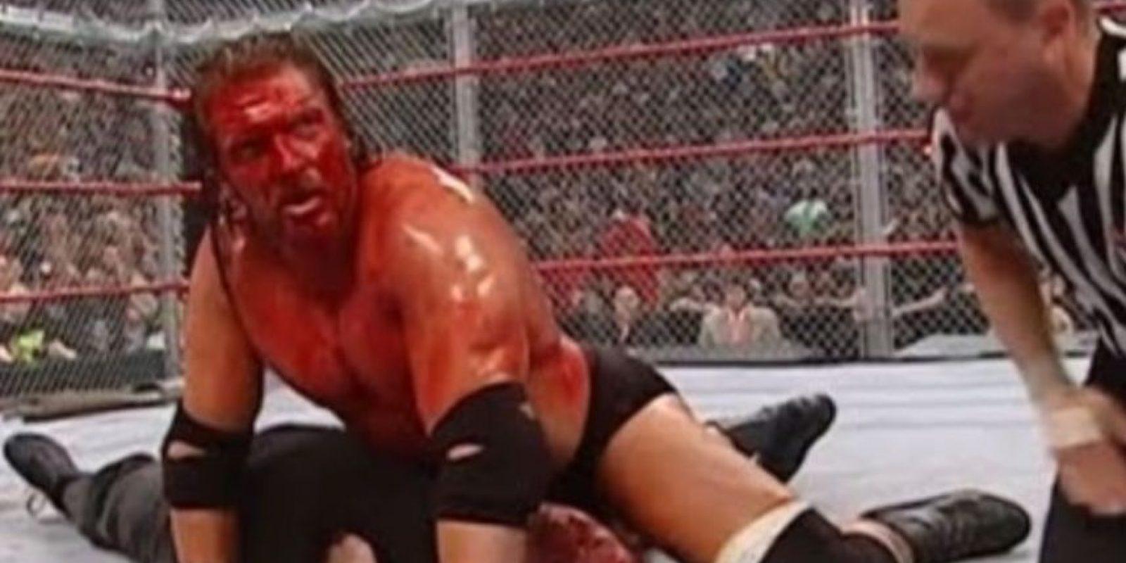 DX vs La familia McMahon y Big Show, en Unforgiven 2006. Foto:WWE
