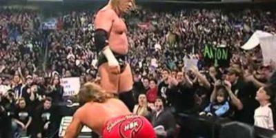 Shawn Michaels vs Triple H en Royal Rumble 2004. Foto:WWE