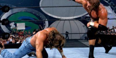 Shawn Michaels vs Triple H, en Summerslam 2002. Foto:WWE