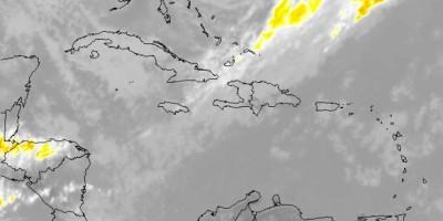 Se esperan lluvias de débiles a moderadas debido a sistema frontal sobre la isla