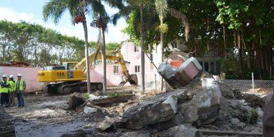 Hallan caja fuerte en cimientos de casa que perteneció a Pablo Escobar