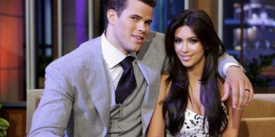Kim solo tuvo una excepción en la raza de sus parejas: Kris Humphries. Foto:vía Getty Images