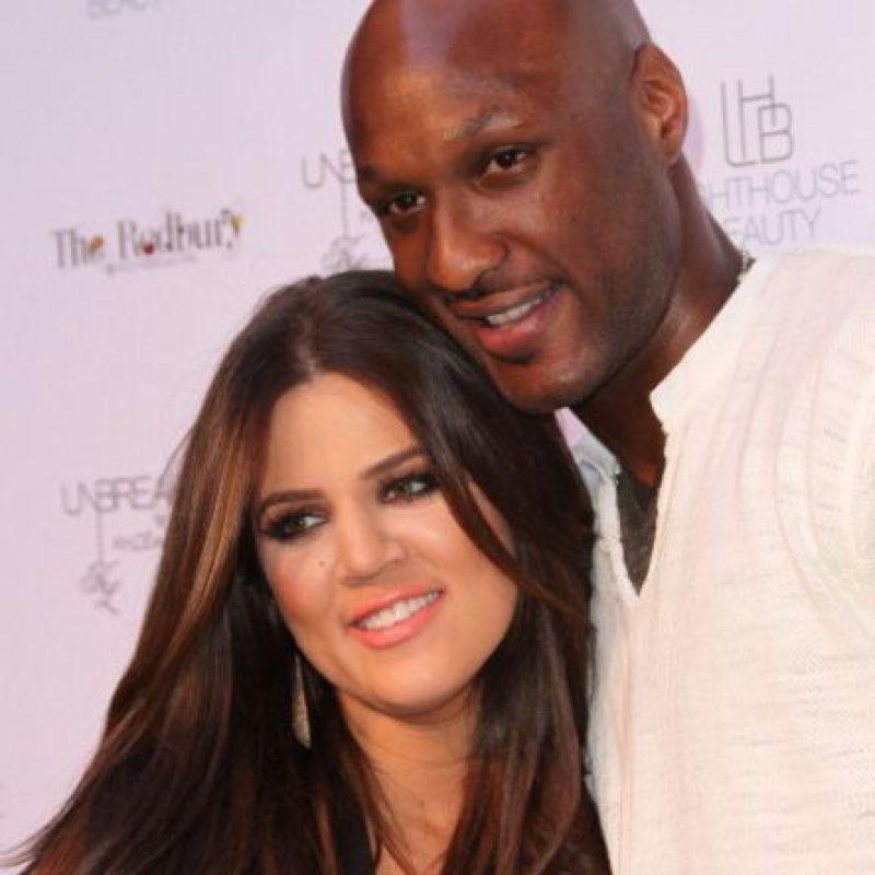 Khloé Kardashian estuvo casada con Lamar Odom. Foto:vía Getty Images