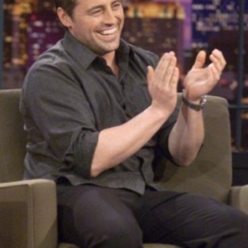 Así recordamos a Matt LeBlanc Foto: Getty Images