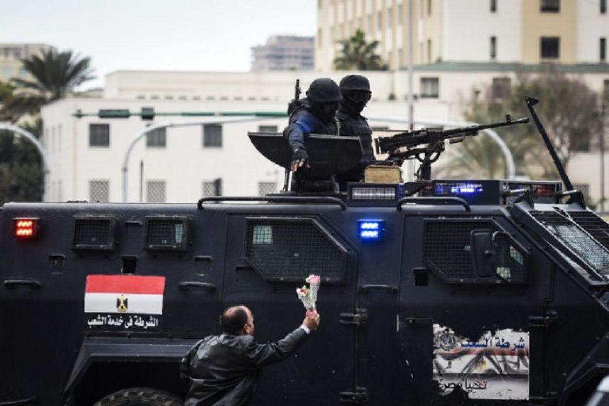 La situación actual es una situación controlada por un sistema militarizado. Foto:AFP