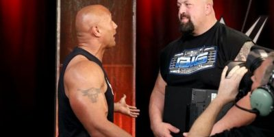 Así fue el regreso de La Roca a WWE Foto:WWE