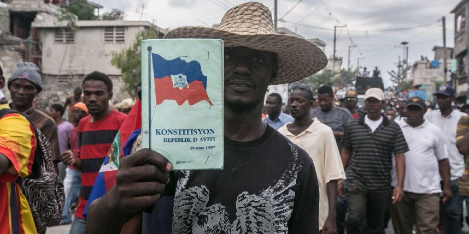 Los ciudadanos haitianos continúan a la espera de la segunda vuelta electoral Foto:Fuente externa