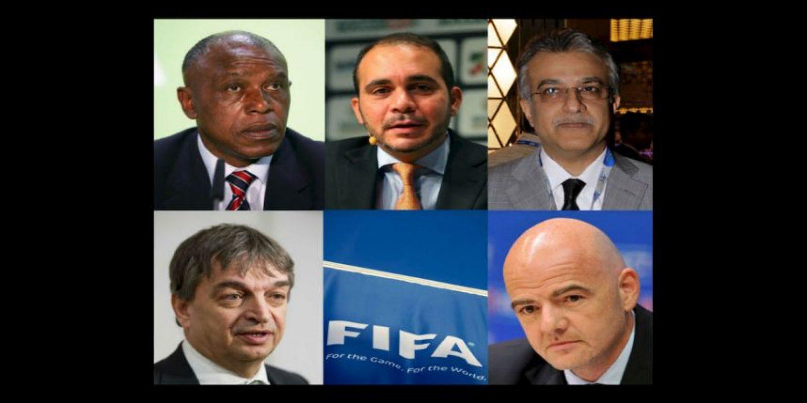 Ellos son los candidatos a la presidencia de la FIFA: Foto:Getty Images
