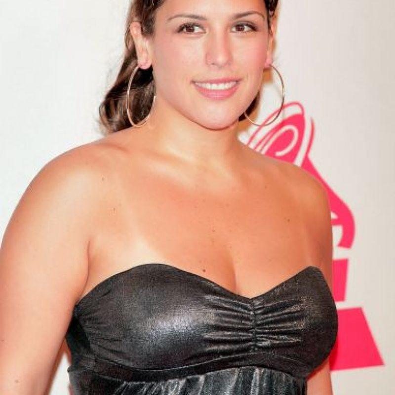 Angélica Vale, actriz mexicana hija de la cantante Angélica María. Lucía así antes de casarse con Otto Padrón en 2011. Foto:Getty Images